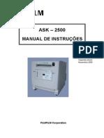 Manual_de_instrucoes Fuji Ask 2500