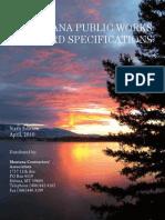 MPW Standard Spec 2010