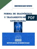Norma de Diagnostico y Tratamiento de Ginecologia