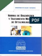 Norma de Diagnostico y Tratamiento de Oftalmologia