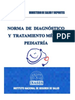 Norma de Diagnostico y Tratamiento en Pediatria