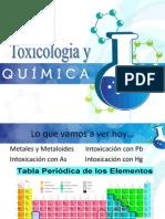 Toxicología y Química