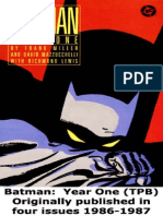 Batman Year One [Frank Miller]