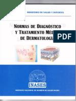 Norma de Diagnostico y Tratamiento en Dermatologia