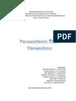 PENSAMIENTO ETICO VENEZOLANA