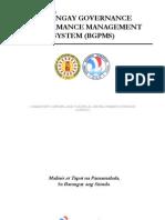 Barangay Governance Performance Management System