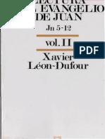 Leon Dufour, Xavier - Lectura Del Evangelio de Juan 02