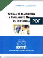 Norma de Diagnostico y Tratamiento de Psiquiatria