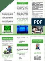 Brochure de Los Virus