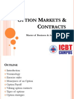 Option Markets & Contracts