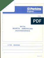 Perkins 4-154 Parts Manual