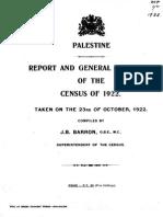 Palestine Census 1922