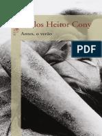 Antes o Verao - Carlos Heitor Cony