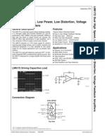 Lm6172 Op Amp Doble