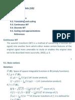 DIC12!09!1D ContinuousWavelets