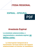 8ª CLASE Anestesia Regional