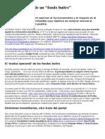 """3.Funcionamiento de Un """"Fondo Buitre"""" Poesía Mercenaria"""