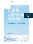 White paper Building Pensions for the Future