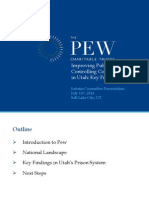Pew - Improving Public Safety and Controlling Corrections Costs in Utah