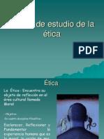 3 Objeto de Estudio de La Etica