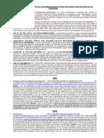 JURISPRUDENCIAS - REIVINDICACION y Mejor Derecho Juntos - Extractos Actualizado