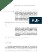 POLÍTICA URBANA E A FUNÇÃO SOCIAL DA PROPRIEDADE.doc