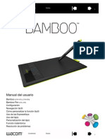 Manual Del Usuario BAMBOO Wacom