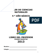 Libro del profesor 5° 2013 Sem 1
