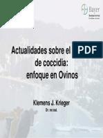 Eimeria - Coccidia Enfoque en Ovinos