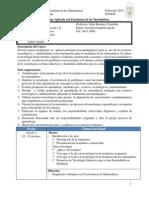 Descripcion Tecnologia Aplicada II 2014