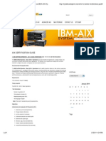 AIX CERTIFICATION GUIDE | Get Experties on IBM-AIX System Administration
