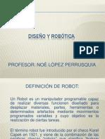 Diseño y Robótica