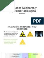 Actividades Nucleares y Seguridad Radiológica