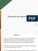 Direccion Operaciones 6C1 Unemi 2014 I Parcial Unidad 1