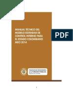 Manual Técnico Meci - 2014
