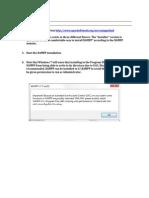 Mutillidae Installation on Xampp Win7