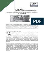 Periodismo en los conflictos armados, hacia una nueva definición del acto de informar
