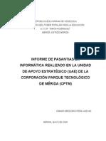 Informe Pasantias Osmar Peña