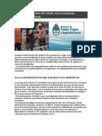 Intervencion Del Estado en La Economia.