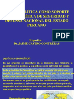 Geopolitica Jaime Castro Contreras