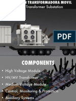 Subestaciones Moviles de Transformacion. Mobile Transformer Substations.
