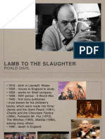 Lamb to the Slaughter - PPT presentation