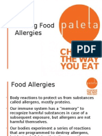 Food Allergies Prevention System