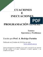 Ecuaciones Inecuaciones Prog. Lineal