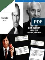 Steve and Walton