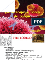 1 - Hemoterapia e Banco de Sangue INTRO FMN 2014.2