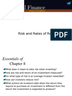 Ch08-Ppt-Risk and Rates of Return-1