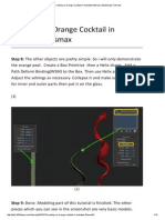 Creating an Orange Cocktail in Autodesk 3dsmax _2 3D2Dizayn Tutorials