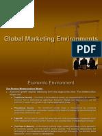 Global Marketing Environments
