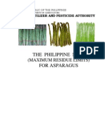 Phil MRLs for Asparagus